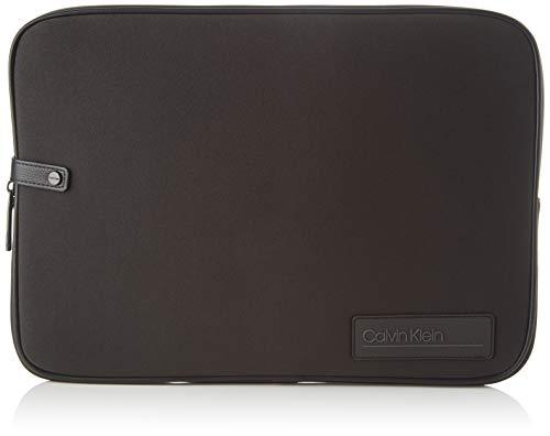 Calvin Klein Heren Scuba Laptop Sleeve Laptop Tas Zwart (Blackwhite Black)