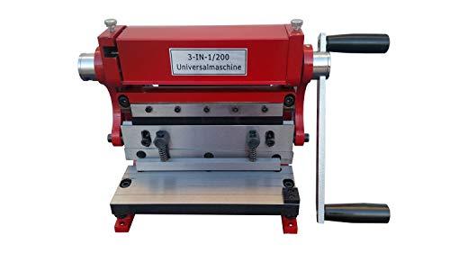 PAULIMOT Universal-Blechbearbeitungsmaschine 3 in 1/200