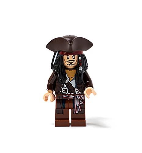 LEGO Pirati Dei Caraibi: Capitano Jack Sparrow Con Tricorne Minifigura