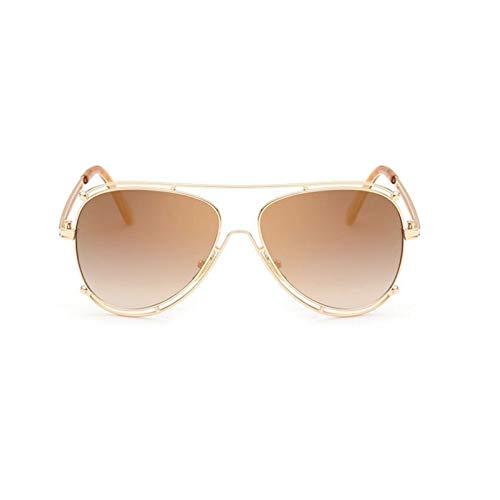 SUIBIAN Mujer Hombre Espejo Gafas de Sol UV400