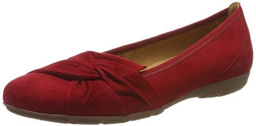 Gabor Shoes Damen Casual Geschlossene Ballerinas, Rot (Rubin 15), 39 EU