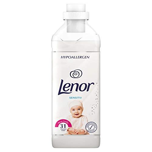 Lenor Weichspüler Sensitiv, 31 Waschladungen, 12er Pack(12 x 930 ml)