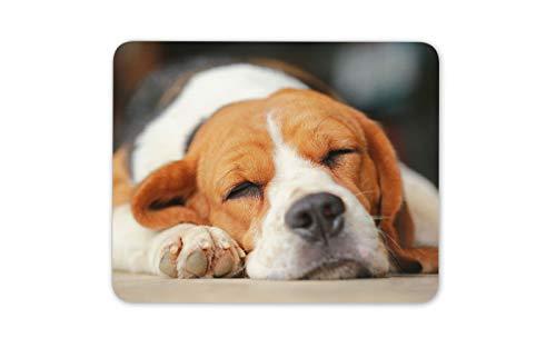 Sleepy Souris Beagle Tapis Tapis - Chien Chien chiot mignon Pet Fun Computer # 15506 Cadeau