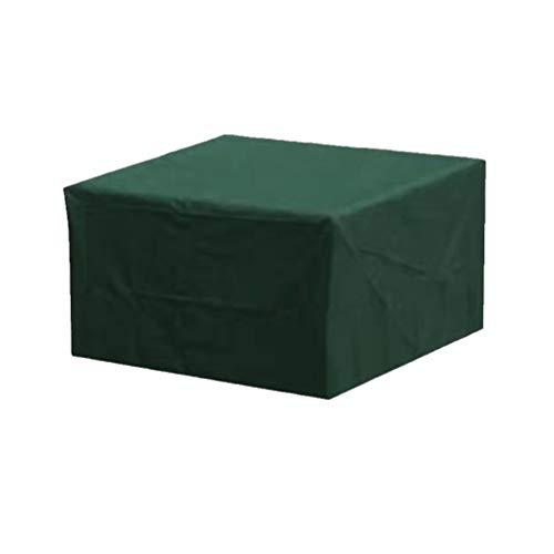 Cubierta de Muebles de Jardín Funda para Muebles de Jardín Impermeable Anti-UV Protección Exterior Muebles de Jardín Cubiertas de Mesa y Silla Como imagen 160 * 160 * 70cm