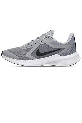 Nike Downshifter 10 GS - Scarpa da corsa, unisex, per bambini, colore: Grigio particolare, 6 anni