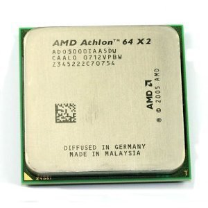 AMD Athlon 64X25000+ Brisbane 2.6GHz 2x 512KB L2Cache Socket AM265W dual-core edición negro procesador