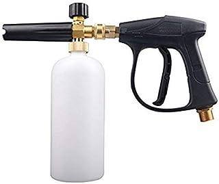 GUOCAO 1 L de lavado de coche de lavado a presión de chorro de lavado de liberación rápida ajustable de espuma de nieve lanza de espuma de cañón herramientas herramientas