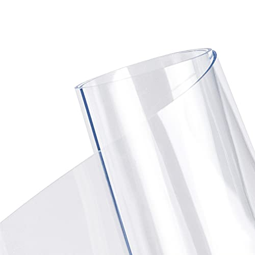 WJDY Mantel Transparente, Protector Mesa Transparente, para Mesas De Centro, Mesas De Comedor, Escritorios, Resistente A Los Arañazos Duradero (Color : Clear-3mm, Size : 80x150cm)