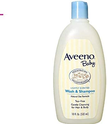 Aveeno Baby Gentle Wash & Shampoo with Natural Oat Extract, 2-in-1 Bath Wash and Hair Shampoo for Baby, Tear-Free & P...