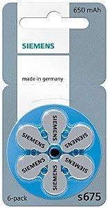 Siemens Hörgerätebatterien S675
