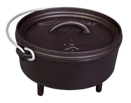 Camp Chef Classic Dutch Oven Set Schmortopf aus Gusseisen Grill BBQ Outdoor Auswahl Classic Dutch Oven SDO08