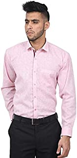 The Mods Men's Formal Light Pink Color Shirt
