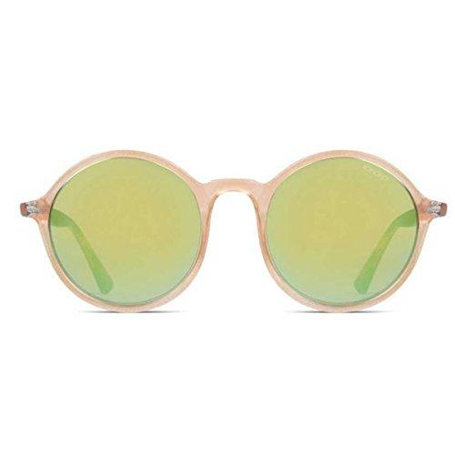 KOMONO Damen MADISON Sonnenbrille, Rahmen: Pearl Tortoise/Gläser: Gold Mirror, 50