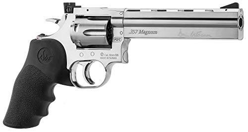 Dan Wesson RÉPLIQUE Airsoft 0,5 Joules Revolver 715 CO2 Silver 6 Pouces 0.5 Joules (Vente Interdite aux Personnes âgées de Moins de 18 Ans)