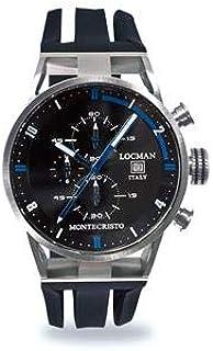 Locman - Reloj cronógrafo, color negro