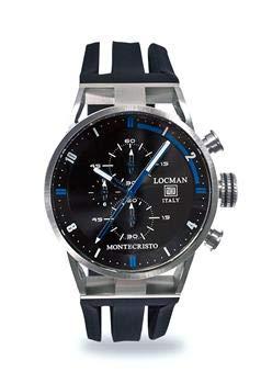 Locman montecristo cronografo Nero U