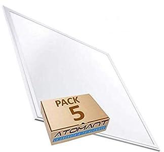Pack 5X Panel Led 60x60cm, 48w. Color Blanco Frio (6500K). 4000 lumenes. A++. 595 x 595 x 8 Mm