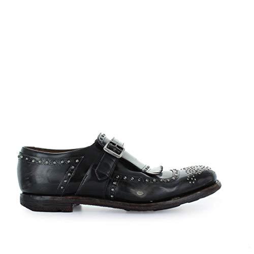 Church's Luxury Fashion Herren EOG0039RWF0FA6 Grau Leder Monk-Schuhe | Herbst Winter 19
