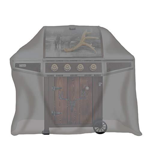 Tepro 8411 Universal Abdeckhaube - für Gasgrill extra tief, anthrazit