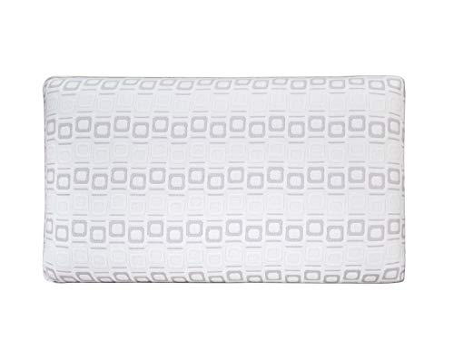Best 2 Rest Embedder Gel Memory Foam Pillow – Moisture Wicking Always Cold Pillows for Side Sleeping, Queen Size