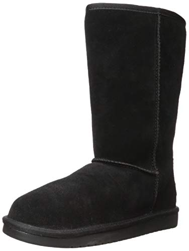 Koolaburra by UGG Girl's K KOOLA Tall Fashion Boot, Black, 12 Medium US Big Kid