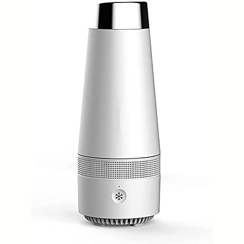 ZBQLKM Smart Hot and Fria Copa, Copa de agua de enfriamiento y calefacción de doble uso del USB, Copa de calefacción y refrigeración de bebidas, Calefacción de 2 en-1 Agua de enfriamiento Bebida de ca