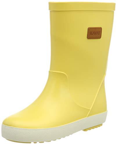 Kavat Unisex-Kinder Skur WP Gummistiefel, Gelb (Light Yellow 901), 28 EU