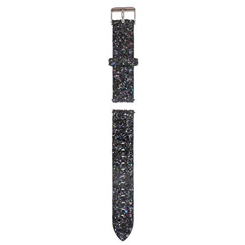 Stijlvolle horlogebenodigdheden - Banda de Reloj Bling de 20 mm Compatible con Galaxy Watch 41/40/42/44 mm/Activo / Activo2