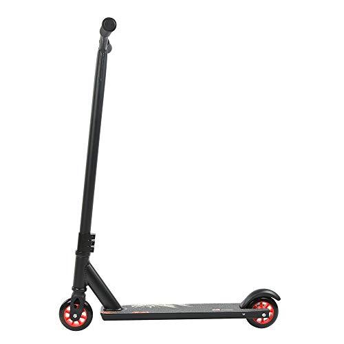 T-Day Scooter de Acrobacias, patineta, portátil al Aire Libre para Adultos, niños, patinetes de Acrobacias de 360 Grados, patinetes de Empuje con Barra Fija