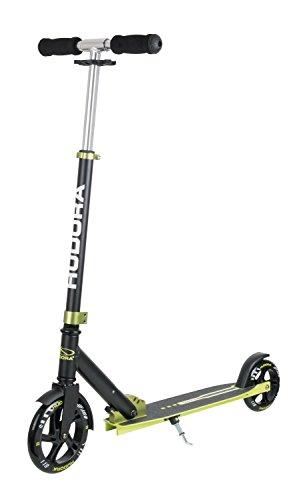 HUDORA Bold Wheel Scooter - Patinete (Talla L), Color Verde