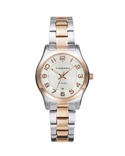 VICEROY - Reloj Acero IP Rosa Brazalete Sra Va - 401086-85