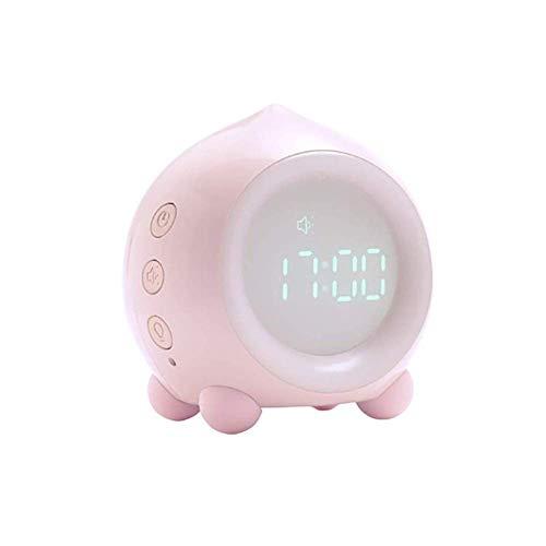 Reloj despertador inteligente con dormitorio de noche con la