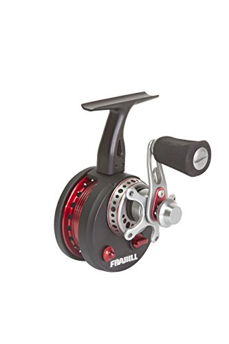 Frabill Straight Line 371 Ice Fishing Reel in Clamshell Pack, Black, One Size