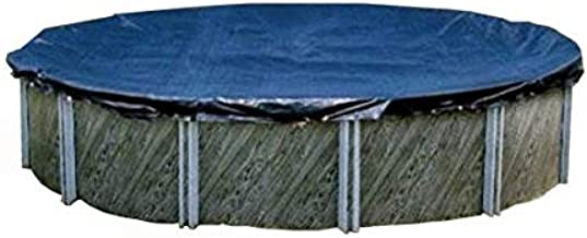 Swimline S28RD 28' Winter Round Above Ground Swimming Pool Cover Blue
