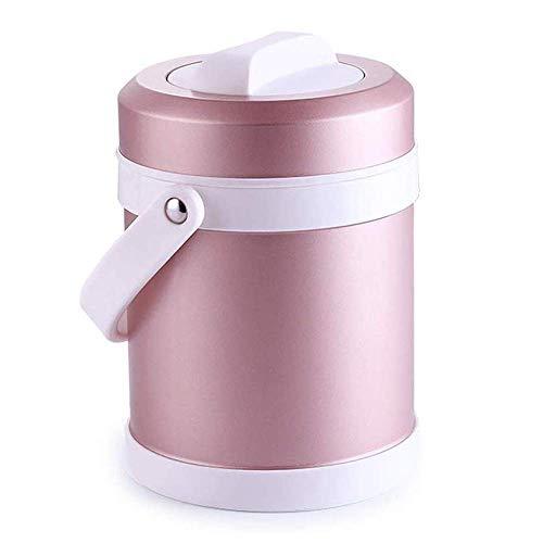 Draagbare isolerende voedselpot, BPA-vrije brede mond soepcontainer, roestvrijstalen lunchthermoskan voor warm eten, lekvrije dubbelwandige vacuüm geïsoleerde soepcontainer, thermoskan voor schoollunches Thermische voedselfles, 22L