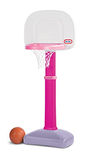 Little Tikes TotSports Easy Score Basketball Set Pink, 22.00 L x 23.75 W x 61.00 H Inches