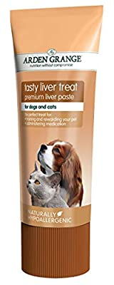 Arden Grange Tasty Liver Treats for Cats and Dogs, 1 Tube, 75 g