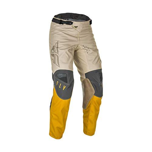 Fly Racing 2021 Kinetic Pants - K121 (32) (Mustard/Stone/Grey)