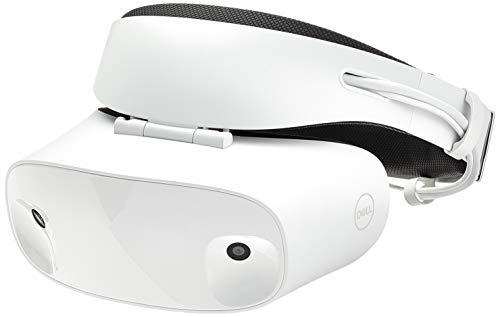 Dell Visor Casque de visualisation dédié Blanc - Visiocasques (Casque de visualisation dédié, Blanc, 110°, Uniforme, LCD, 1440 x 1440 Pixels)