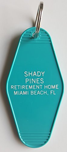 The Golden Girls Shady Pines Inspired Key Tag