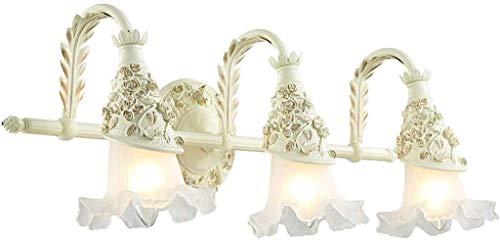 Europese badkamerlamp badkamer make-up spiegel schijnwerper eenvoudige Amerikaanse make-uptafel spiegel kast lamp LED badkamer kast lampen Rollsnownow (grootte: drie kopen)