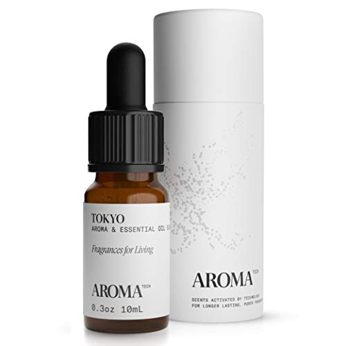 Tokyo Aroma Oil for Scent Diffusers, Essential Oil for Diffusers, Luxury Essential Oil - 10 Milliliter