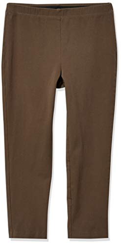 Karen Kane Women's Piper Pant, Taupe, Medium