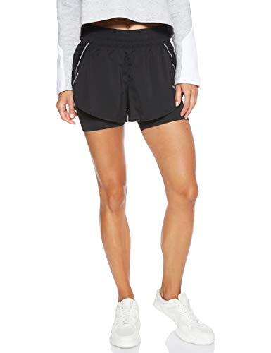 PUMA Women's Synthetic Sports Shorts (51826304 Black_M)