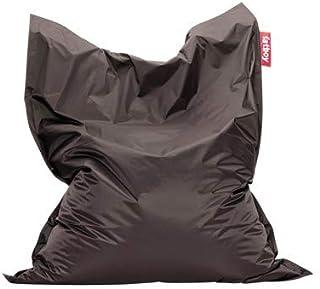Fatboy® The Original Pouf Poire Bean Bag/Coussin/Fauteuil/canapé d'intérieur XXL | Gris foncé | 180 x 140 cm