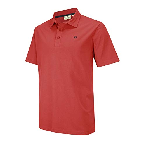 Hoggs of Fife Crail Polo en jersey Rouge grenat M Rouge