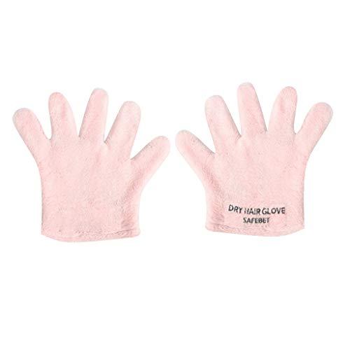 kitt Microfiber Hair Drying Glove, Ultra Absorbent Twist Hair Turban Quick...