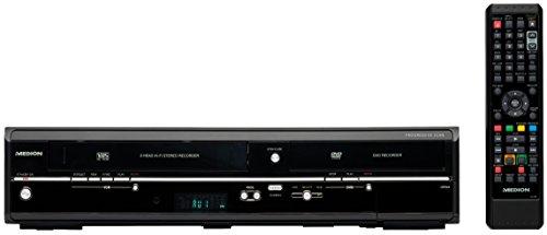 MEDION Life DVD-Rekorder Schwarz - DVD-Player (DIVX,MPEG4,XVID, MP3, JPG, DVD-Audio, DVD-Video, DVD+R,DVD+R DL,DVD+RW,DVD+RW DL,DVD-R,DVD-R DL,DVD-RW,DVD-RW DL, DVD)