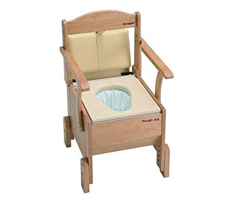 介護用自動ラップ式トイレ ラップポン・ブリオ 樹脂便座タイプ