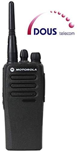 Analógico UHF Motorola DP1400 2 M incluye antena, batería + personalizados para programación
